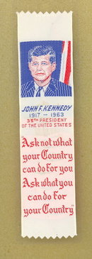 John F. Kennedy bookmarks