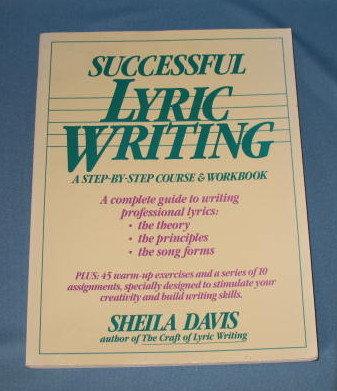 Successful Lyric Writing by Sheila Davis