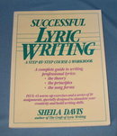 Successful Lyric Writing by Sheila Davis
