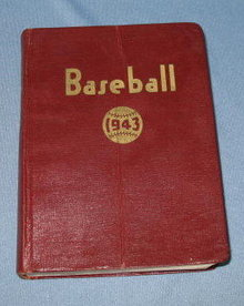 1943 Baseball Official Major and Minor League Records