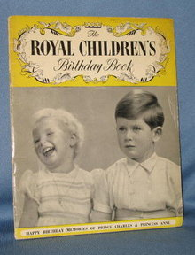 The Royal Children's Birthday Book (Prince Charles and Princess Anne)