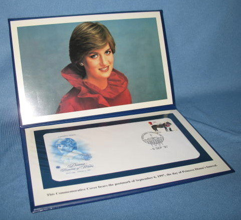 The Princess Diana Memorial Commemorative First Day Cover, September 6, 1997