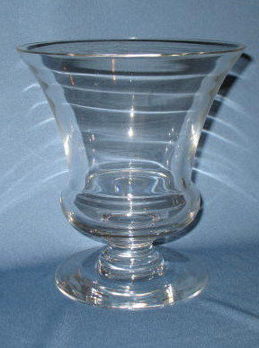 Val St. Lambert footed vase
