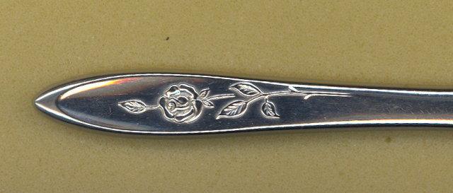 Oneida My Rose Community Stainless medium serving fork