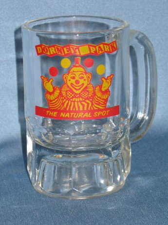 Dorney Park (Allentown PA) glass mug