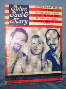 Peter, Paul & Mary music book