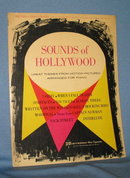 Sounds of Hollywood Piano Arrangement music book