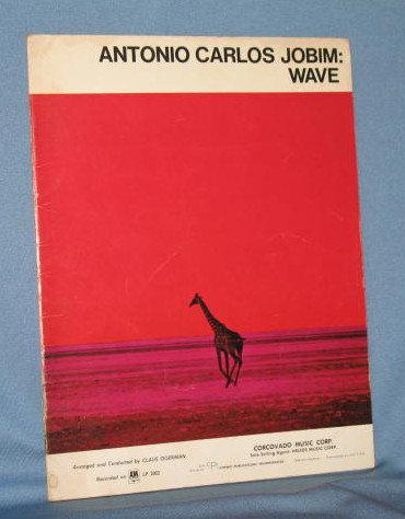 Antonio Carlos Jobim : Wave music book