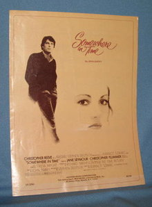 Somewhere in Time sheet music by John Barry