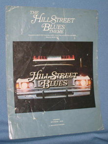 The Hill Street Blues Theme sheet music