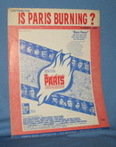 Love Theme from Is Paris Burning? sheet music