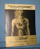 Goldfinger sheet music
