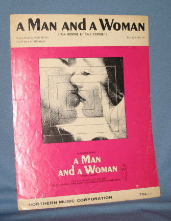 A Man and a Woman sheet music