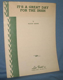 It's a Great Day for the Irish sheet music