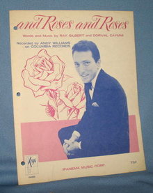 And Roses and Roses sheet music
