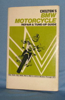 Chilton's BMW Motorcycle Repair & Tune-Up Guide
