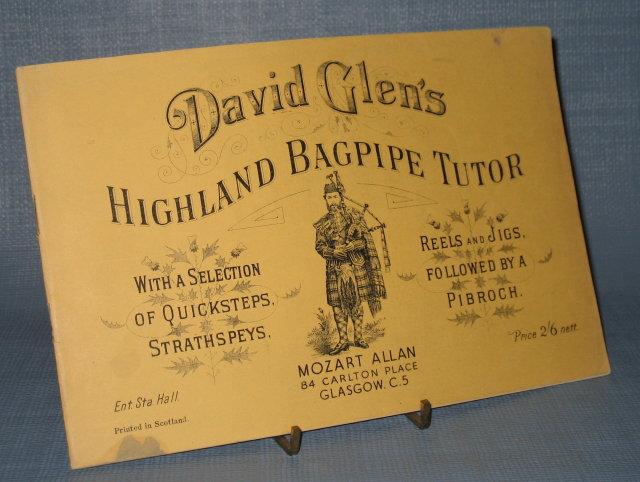 David Glen's Highland Bagpipe Tutor