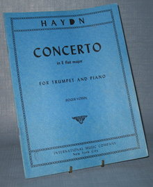 Haydn Concerto in E flat major for Trumpet and Piano (Roger Voisin)