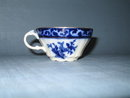 Stanley Pottery Co. England Touraine flow blue cup