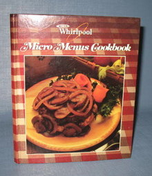 Whirlpool Micro Menus Cookbook
