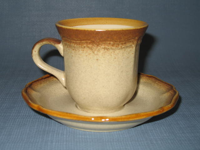 Mikasa Whole Wheat cup and saucer