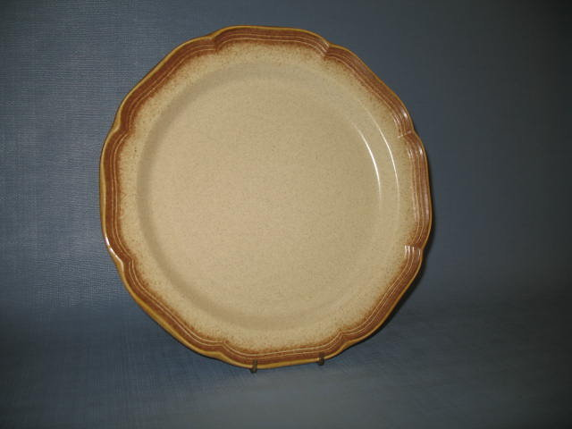 Mikasa Whole Wheat round platter or charger