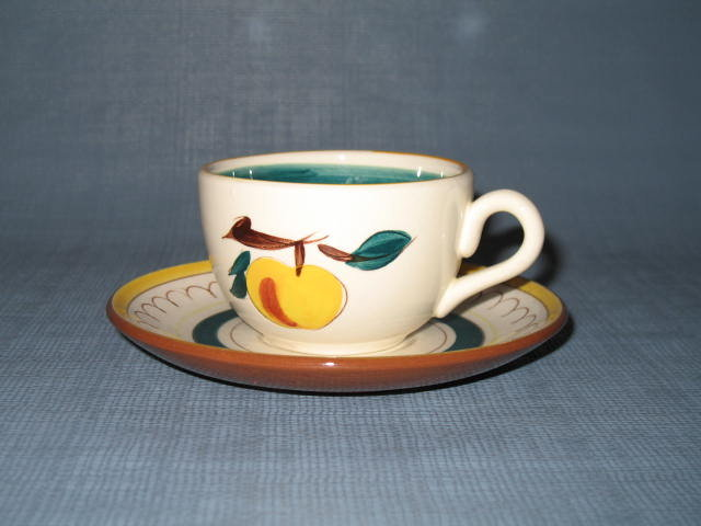 Stangl Fruit cup and saucer