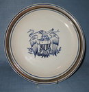 Salem Stoneware dinner plate