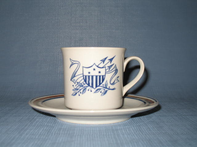 Salem Stoneware cup and saucer