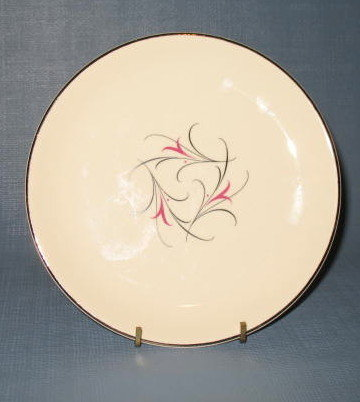 Salem China Serenade dinner plate