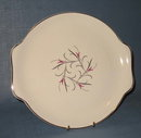 Salem China Serenade handled round platter