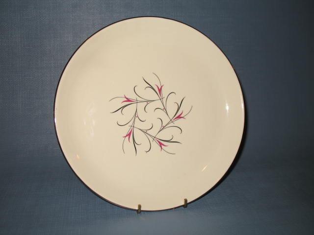 Salem China Serenade salad plate