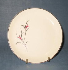 Salem China Serenade bread plate