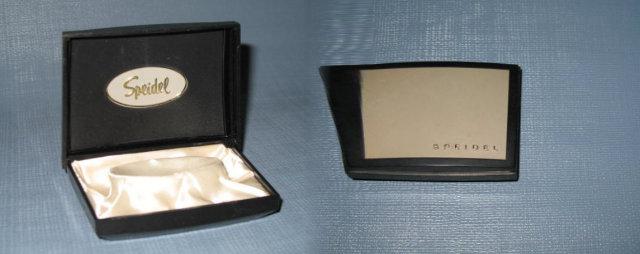 Speidel plastic watch case