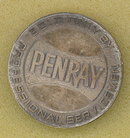 PENRAY medallion