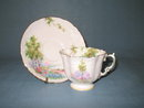 Aynsley (England) Bluebell Time , Gold Trim, cup and saucer