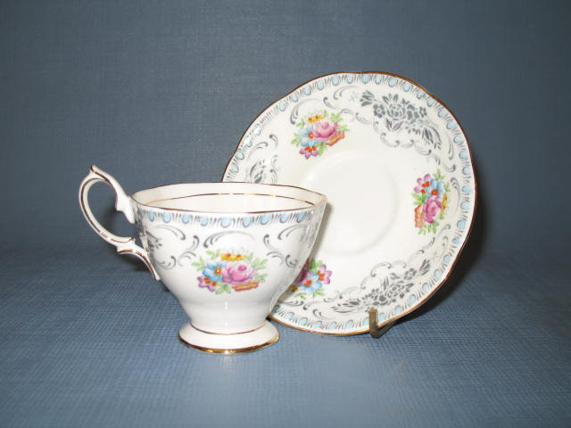 Royal Albert (England) Damask cup and saucer
