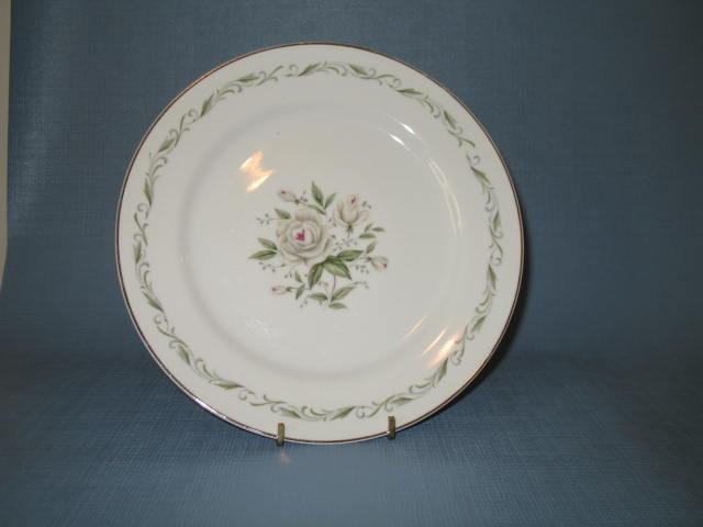 Diamond China Romance dinner plate
