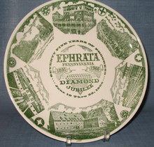Ephrata PA Diamond Jubilee plate
