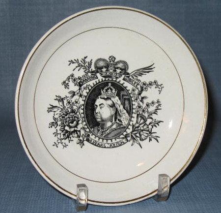 Queen Victoria Diamond Jubilee plate