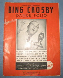 Bing Crosby Dance Folio