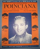 Bing Crosby's Poinciana (Song of the Tree) sheet music