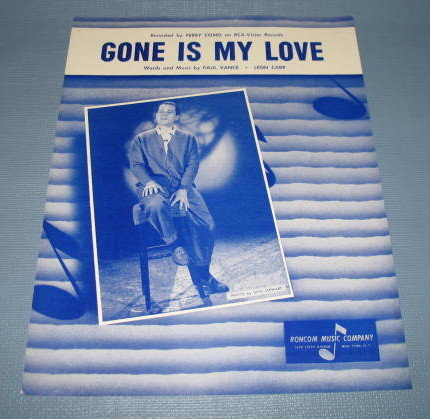 Gone is My Love  sheet music
