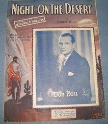 Night on the Desert sheet music