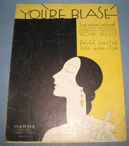 You're Blase' sheet music