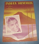 Indian Summer sheet music