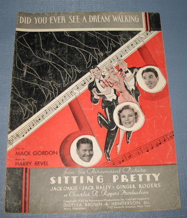 Did You Ever See a Dream Walking sheet music