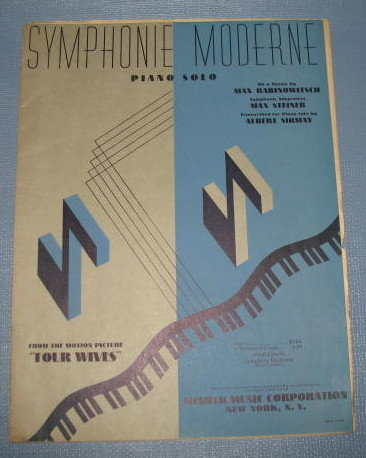 Symphonie Moderne sheet music