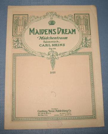 Maiden's Dream sheet music