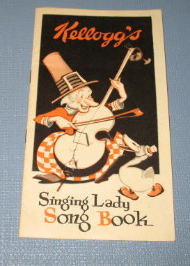 Kellogg's Singing Lady Song Book